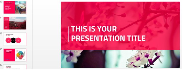 Fidele presentation template
